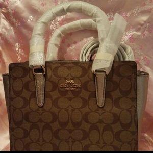 COACH crossbody purse with wallet